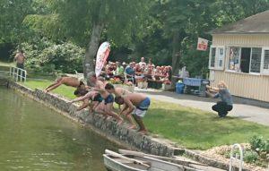 Big Jump zum Sommerfest